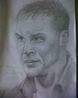 Tom Hardy by ConnorHornbyy